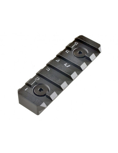 Strike Industries Link Rail 6 Slot KeyMod or M-LOK Link-RS-6-BK SI Picatinny 1913 Black