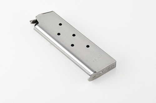 Wilson Combat 1911 Full Size Service Magazine .45ACP SS 7RD 608 .45 45 ACP 45ACP 7 seven Round rd MAG stainless steel