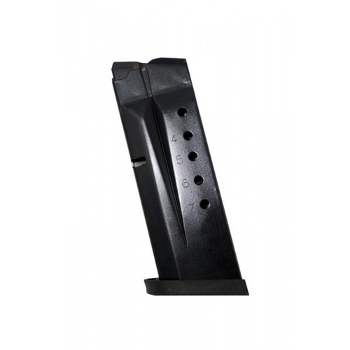 ProMag Smith & Wesson Shield 9MM 7RD Blue Steel Magazine SMI26 SMI 26 9 MM Luger 7 RD Seven Round Black MAG S&W