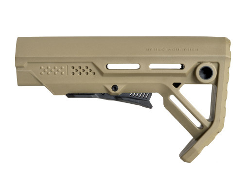 Strike Industries AR-15 Viper MOD-1 Stock FDE VIPER-ES-MOD1FDE-BK 708747544770 Flat Dark Earth Mil-Spec