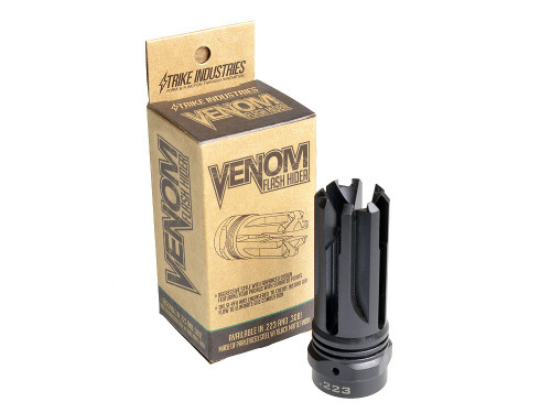 Strike Industries AR-15 Venom Flash Hider .223 5.56 VENOM-FH-5.56 700598350500 M4 1/2x28