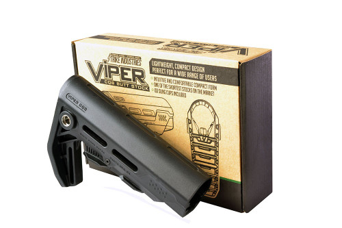 Strike Industries Viper CQB AR-15 Adjustable Stock Black VIPER-ES-CQB-BK 708747544831 AR 15