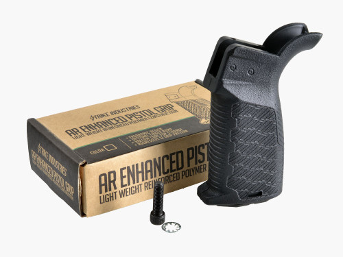 Strike Industries AR-15 Enhanced Pistol Grip Black AR-EPG-BK 700598350906 AR 15 5.56