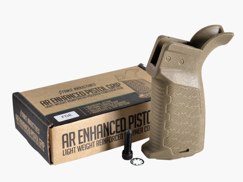 Strike Industries AR-15 Enhanced Pistol Grip FDE AR-EPG-FDE