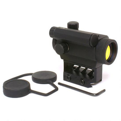 Black Spider Optics M0129 Micro Red Dot Sight 3 MOA 1/3 Co-Witness M0129 0865887000105