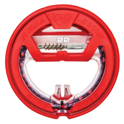 Real Avid Bore Boss .22 Caliber Self Storing Bore Cleaner AVBB22 813119012235 .22LR LR Rifle