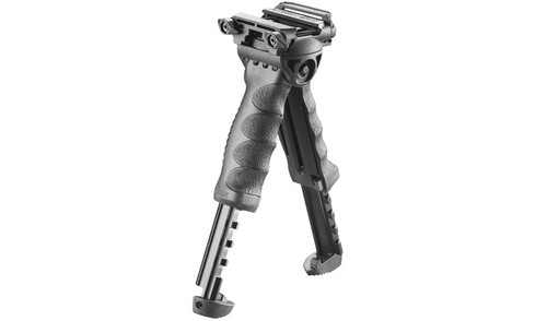 FAB Defense T-Pod Verticle Foregrip With Rotating Bipod Polymer  T-PODG2PR  879015004132