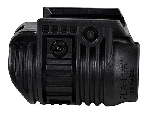 "FAB Defense Picatinny Rail Flashlight Mount 1-1/8"" Diameter Polymer PLA118 879015000660 Laser Adapter"