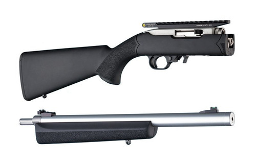 Hogue Ruger 10/22 Takedown Rubber Overmolded Stock Black .22LR Bull Barrel 21050 743108210505