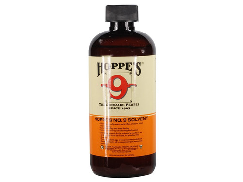 Hoppe's #9 Bore Cleaning Solvent Liquid 2oz Bottle 902 026285510409