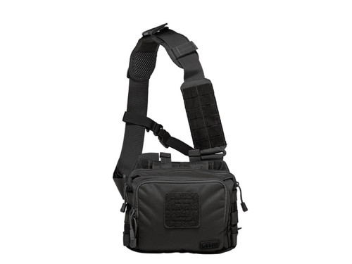 5.11 Tactical 2 Banger CCW Shoulder Bag Pack Black Nylon EDC Two 56180 844802302456