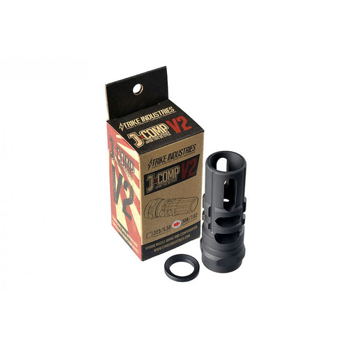Strike Industries JCOMP V2 Japan Type 89 Compensator .308 7.62X51 7.62 AR-10 AR Muzzle JCOMP2-308/7.62 708747545746