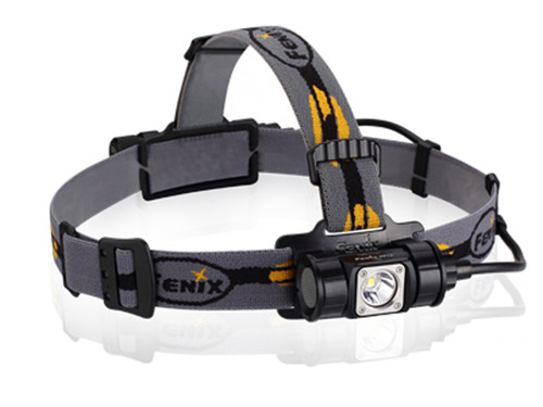 Fenix HP12 Headlamp 900 Lumen CREE LED 18650 or 2 CR123 Flashlight FX-HP12 6942870303017
