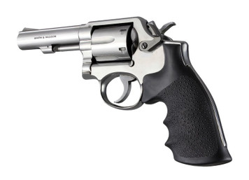 Hogue Grip Smith & Wesson K or L Square Butt Rubber Monogrip Black 10000 0743108100004 Revolver