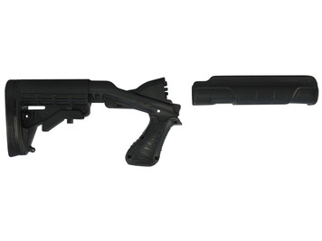 Blackhawk Knoxx SpecOps NRS Gen II Adjustable Stock - Mossberg 500 590 K30200-C Black 648018171741 590A1 Maverick 88