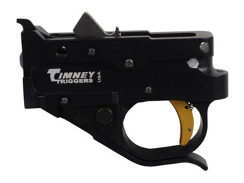 Timney Triggers Ruger 10/22 Trigger Guard Assembly Gold Shoe .22LR 1022-4C Black .22 Long Rifle