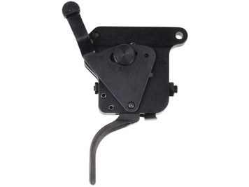 Timney Triggers Remington 700 40X Flat With Safety Adjustable Rifle Trigger Black 517 081950005178