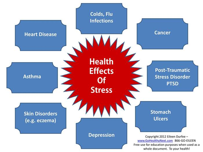 essay of the effects of stress on health