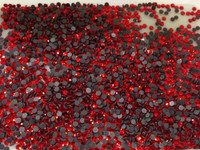 RED SIAM 2mm 6ss Premium quality Loose Hotfix Rhinestone