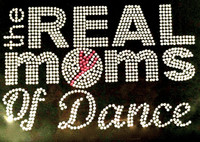 Real Moms of Dance Rhinestone Transfer Iron on DIY