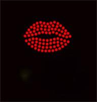 """(6 Qty) Lips 2"""" red Custom Order Rhinestone transfer"""