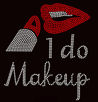 I do Makeup Lipstick Make up Rhinestone Transfer