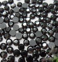 JET BLACK 3mm 10ss Loose Hotfix Rhinestone