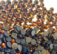 COFFEE (Dark Brown) 3mm 10ss 2cut Premium Quality Loose Hotfix Rhinestone