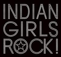 Indian Girls Rock Rhinestone transfer