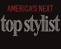 America's Next Top Stylist Rhinestone Transfer