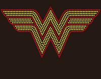 Wonder Woman Custom Rhinestone Transfer