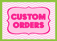Special Custom Order Personal Rhinestone transfer