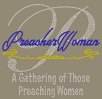 Preacher Woman - Custom Rhinestone transfer