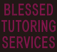 Blessed Tutoring Services Rhinestone Transfer