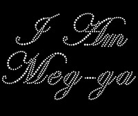 I Am Meg-ga - Custom Rhinestone Transfer