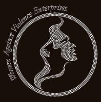 Women Against Violence- Custom Rhinestone Transfer