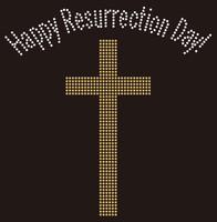 Happy Resurrection Day - Custom Rhinestone Transfer