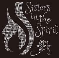 Sisters in the Spirit - Custom Rhinestone Transfer