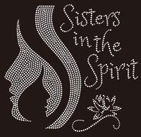 Sisters in the Spirit - Custom Rhinestone Transfer