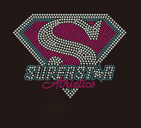 Superstar Athletics small 6.8x5 inch custom Rhinestone Transfer