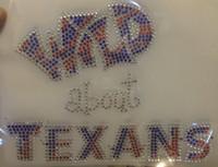 Wild About Texas Rhinestone Transfer Iron On