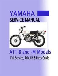 yamaha 250 305 twins yds3 ym1 yds service manual bear motorsports rh bear sports com I&T Shop Manuals Tranmission Shop Manuals For