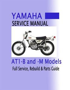 yamaha at 1 service manual bear motorsports rh bear sports com 1971 Yamaha AT1 Specs 1970 Yamaha AT1 125 Enduro