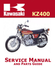 1974-78 Kawasaki KZ400 Service Manual
