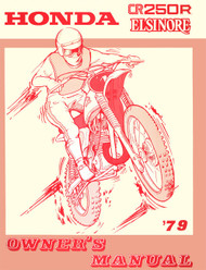 1979 Honda CR250 Manual & Parts Guide