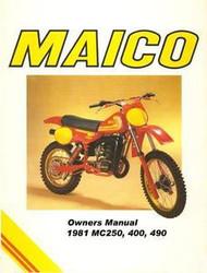1981 Maico Mega Owners Service Manual