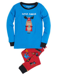 Hatley Super Heros Moose Applique Pyjamas
