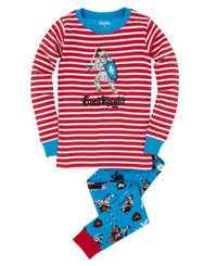 Hatley Good Knight Applique Pyjamas