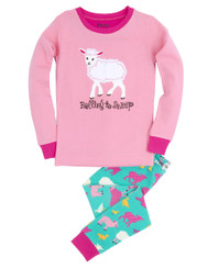 Hatley Falling to Sheep Applique Pyjamas