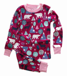 Hatley Nordic Forest Allover Print Pyjamas